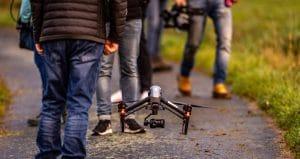 Professionelle Luftaufnahmen Drohne