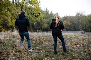 Luftaufnahmen Drohnenteam mecom vision