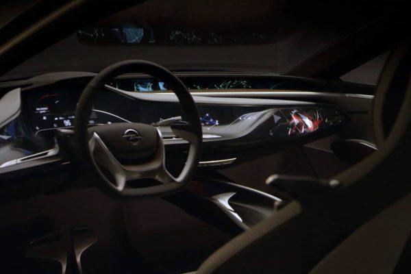 Opel Monza Concept Trailer Car Interiour