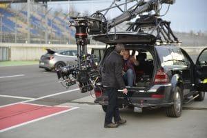 Videoproduktion Dreharbeiten