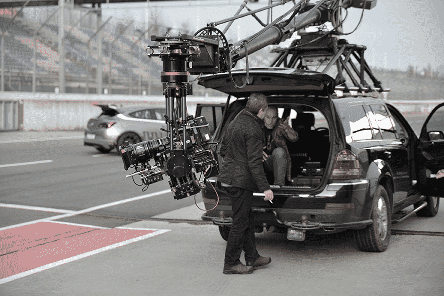 mecom vision Filmproduktion Car2car Shooting